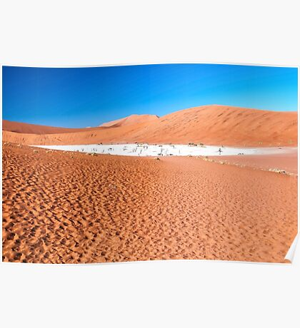 View of Deadvlei in early morning, Namibia Poster