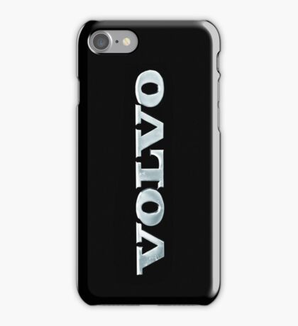 Old Volvo Emblem [iPhone ONLY - read artist notes!] iPhone Case/Skin