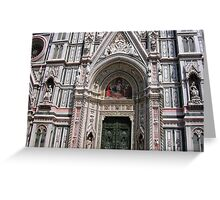 Cathedral of FIRENZE - click to view details please! Greeting Card