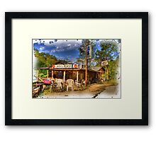 Bobs Place  Framed Print