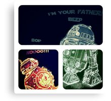 Discover your force color! Canvas Print