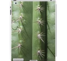 Spikey spikey cactus close-up  iPad Case/Skin