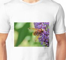 Hoverfly ,  Volucella Zonaria . Unisex T-Shirt