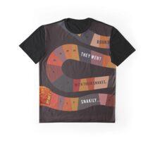 Snakily Aldous Huxley Graphic T-Shirt