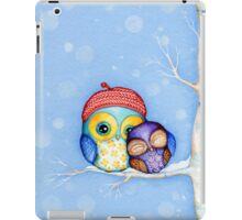 Owl in a Little Red Beret iPad Case/Skin