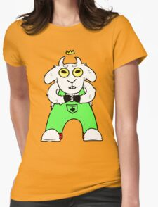 Goat Prince Womens Fitted T-Shirt