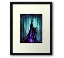 Wicked Queen Framed Print