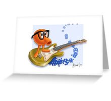 80z Allstars QBert Greeting Card