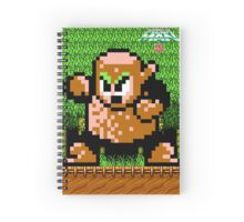 Wood Man Spiral Notebook Spiral Notebook