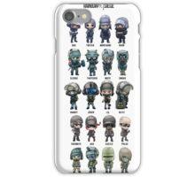 Rainbow Six Siege Chibi's iPhone Case/Skin