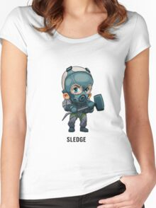 Sledge Chibi Women's Fitted Scoop T-Shirt