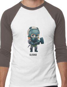 Sledge Chibi Men's Baseball ¾ T-Shirt