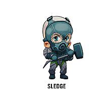 Sledge Chibi Photographic Print