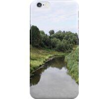 Rural river landscape iPhone Case/Skin