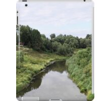 Rural river landscape iPad Case/Skin
