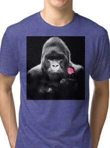 Gorilla Rose Tri-blend T-Shirt