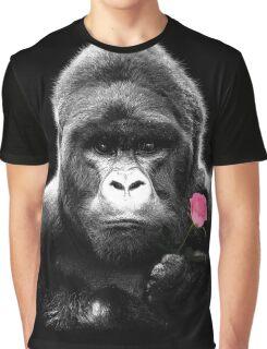 Gorilla Rose Graphic T-Shirt