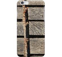 wooden walkway iPhone Case/Skin