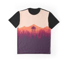 Firewatch Views (Orange) Graphic T-Shirt