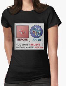 Magikarp - Gyarados Womens Fitted T-Shirt