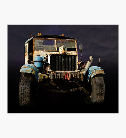 Comma Truck Photographic Print