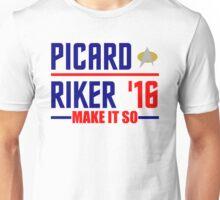 Picard-Riker 2016! Star Trek design Unisex T-Shirt