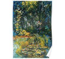 Claude Monet - Water Lily Pond 2 Poster