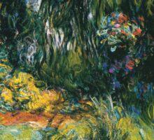 Claude Monet - Water Lily Pond 2 Sticker