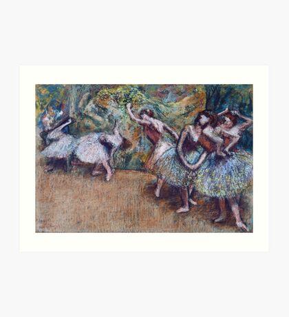 Edgar Degas - Ballet Scene Art Print