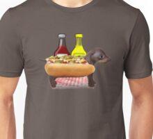 Hot Sausage Dog Unisex T-Shirt