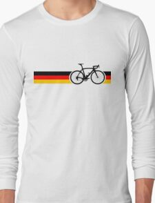 Bike Stripes German National Road Race Long Sleeve T-Shirt