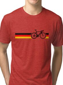 Bike Stripes German National Road Race Tri-blend T-Shirt
