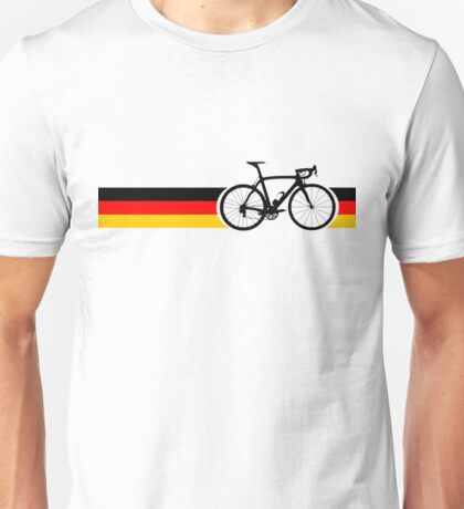 Bike Stripes German National Road Race Unisex T-Shirt