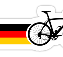 Bike Stripes German National Road Race Sticker