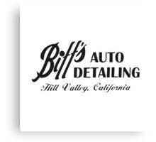 Biff's Auto Detailing Canvas Print