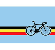 Bike Stripes Belgian National Road Race Photographic Print