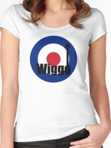Wiggo Mod Women's Fitted Scoop T-Shirt