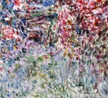 Claude Monet - The House In The Roses  Sticker