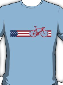 Bike Stripes USA v2 T-Shirt