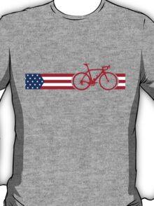 Bike Stripes USA v2 T-Shirt