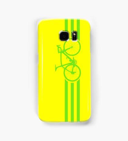 Bike Stripes Green Samsung Galaxy Case/Skin