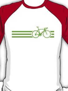 Bike Stripes Green T-Shirt