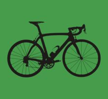 Bike Black (Big) Baby Tee