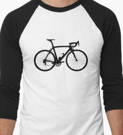 Bike Black (Big) Men's Baseball ¾ T-Shirt