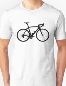 Bike Black (Big) Unisex T-Shirt