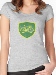 BP Bike Logo Women's Fitted Scoop T-Shirt