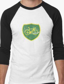 BP Bike Logo Men's Baseball ¾ T-Shirt