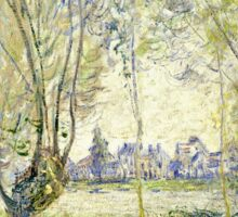 Claude Monet - Woman Seated Under The Willows 1880  Sticker