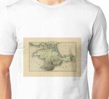 Map Of Crimea 1815 Unisex T-Shirt