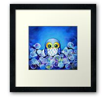Lunar Owl Framed Print